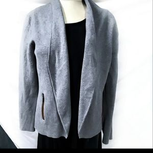 Banana Republic Gray Open Front cardigan Sweater
